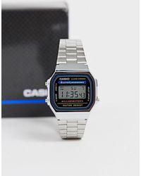 G-Shock Электронные Часы-браслет A168wa-1yes - Многоцветный