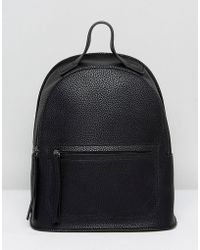 Liquorish - Backpack With Front Pocket Detail - Lyst