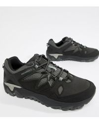 Merrell - All Out Blaze 2 Hiking Trainers In Black - Lyst