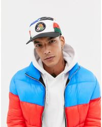 165fe23c9b7 Polo Ralph Lauren - Ski Capsule Flag 5 Panel Cap In Black Multi - Lyst