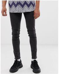 Cheap Monday Jeans skinny aderenti nero Key