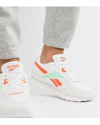 Reebok - Classic Rapide Trainers In White Exclusive To Asos Dv5075 - Lyst