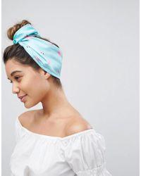 ASOS - Flamingo Headscarf - Lyst