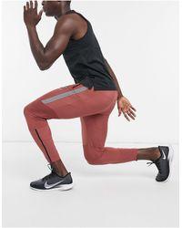 Nike Красные Джоггеры -красный