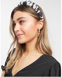 ASOS Padded Headband - Brown