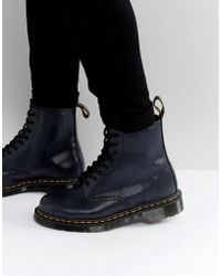 Dr. Martens - 1460 8-eye Graphic Embossed Boots - Lyst