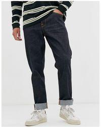 Nudie Jeans Co - Steady Eddie Ii - Regular-fit Jeans Met Wassing - Blauw
