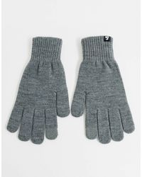 Jack & Jones Touch Screen Gloves - Grey
