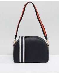 Warehouse - Double Strap Crossbody Bag - Lyst