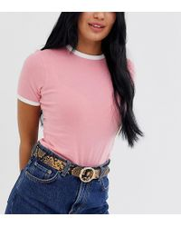 Glamorous Exclusive Snakeskin Waist And Hip Jeans Belt With Gold Bamboo Buckle - Natural