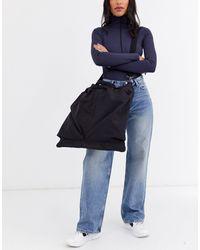 Weekday Asher Nylon Travel Bag - Black