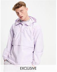 New Look Сиреневая Куртка Без Застежек С Накладным Карманом -фиолетовый Цвет - Пурпурный