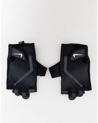 Nike Черные Мужские Спортивные Перчатки Training-черный - Синий