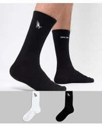 Santa Cruz - 2 Pack Embroidered Socks - Lyst