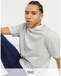 Another Influence Tall Boxy Fit T-shirt - Grey