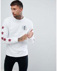 Cheats & Thieves - Circle Crest Back Print T-shirt - Lyst
