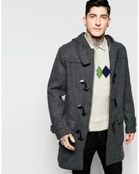 Original Penguin - Heavy Wool Coat - Lyst