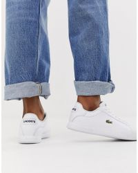 Lacoste Womens White Straightset Bl1 Spw Sneakers Women's In White