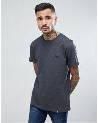 Pretty Green - Short Sleeve Jersey T-shirt In Grey - Lyst