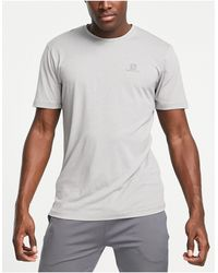 Salomon Agile Training T-shirt - Grey