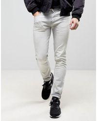 Loyalty & Faith - Loyalty And Faith Stretch Skinny Jeans In Grey Acid Wash - Lyst