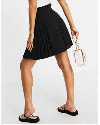NA-KD Paperbag Skirt - Black