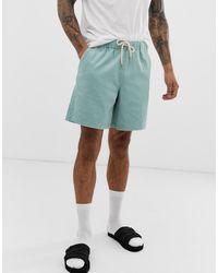 ASOS Slim Shorts - Blue