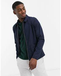 New Look – jacke mit durchgehendem reißverschluss - Blau
