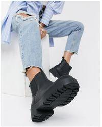 UGG Черные Ботинки Челси Markstrum-черный