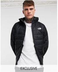 The North Face Черная Куртка Synthetic Эксклюзивно Для Asos-черный Цвет
