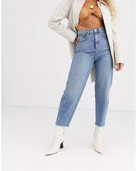 ASOS Jeans carrot - Blu