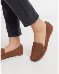 Call It Spring Werracia Flat Loafers - Brown