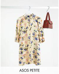 Y.A.S Petite Shirt Dress - Multicolour