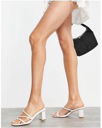 Forever New Millie Multi-strap Block Mule - White