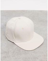 ASOS – Snapback-Cap - Weiß