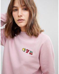 Just Female - Jackpot Sweatshirt - Lyst
