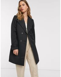 Vero Moda Tailored Mac - Black