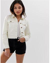 Miss Selfridge Utility Jacket - White