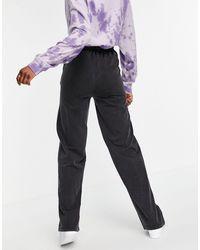 ASOS Asos Design Tall Straight Leg jogger With Pintuck - Gray