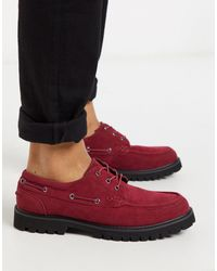 ASOS Boat Shoes - Red