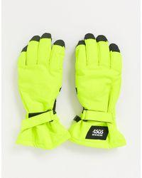 ASOS 4505 Перчатки -желтый