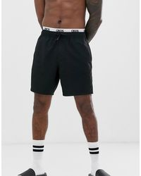 adidas Synthetic Adidas Double Layer Basketball Shorts in
