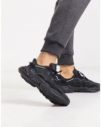 adidas Originals Черные Кроссовки Ozweego-черный