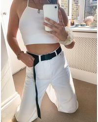 Monki Irma Buckle Belt - Black