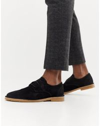 Office - Inferno Desert Shoes In Black Suede - Lyst
