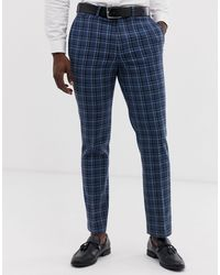 ASOS Mariage - Pantalon - Bleu
