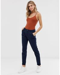 ONLY Pantalon chino slim - Bleu