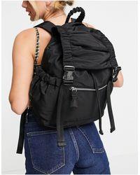 TOPSHOP Sustainable Backpack - Black