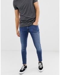 Jack & Jones Intelligence - Skinny-fit Jeans - Blauw