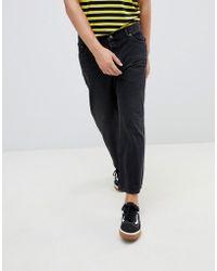 Cheap Monday Jeans neri dritti - Nero